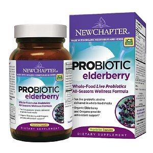 New Chapter Organics Probiotic Elderberry