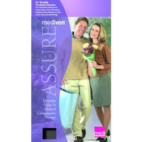 Mediven Assure, Closed Toe, 30-40mmHg, Calf High Compression Stocking, Large, Beige