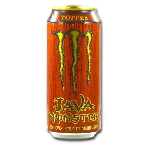 Monster Energy Java Monster Coffee + Energy Drink, Toffee, 15-Ounce Cans (Pack of 12)