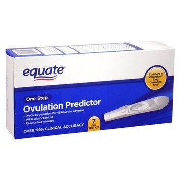 Equate - Ovulation Predictor, One Step, 7 Day Test Kit (Compare to Clearblue)