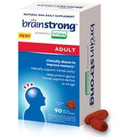 Amerifit Brainstrong Adult DHA Vegetarian Softgels, 90 Count