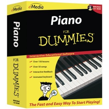 Emedia Piano for Dummies for PC/Mac CD