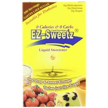 EZ-Sweetz Liquid Sweetener, 0.75-Ounce Bottles (Pack of 6)