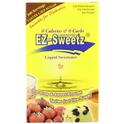 EZ-Sweetz Liquid Sweetener, 0.75-Ounce Bottles (Pack of 6)