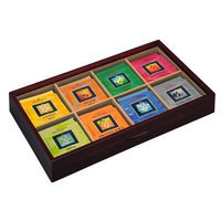 Bentley's Bentley Royal Classic Window Top Wooden Tea Chest, 48 Tea Bag Set