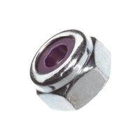 Du-Bro 329 8-32 Nylon Insert Lock Nut (4-Pack)
