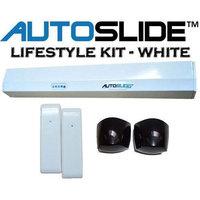 Autoslide Motion Sensor Automatic Patio Pet Door Kit White