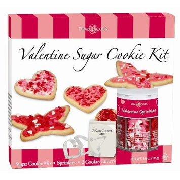 Dean Jacob's Dean Jacobs Valentine Sugar Cookie Kit, 11.0-Ounce (Pack of 3)