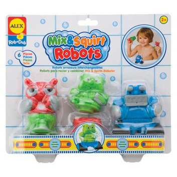 Alex Toys Rub-a-Dub Mix & Squirt Robots