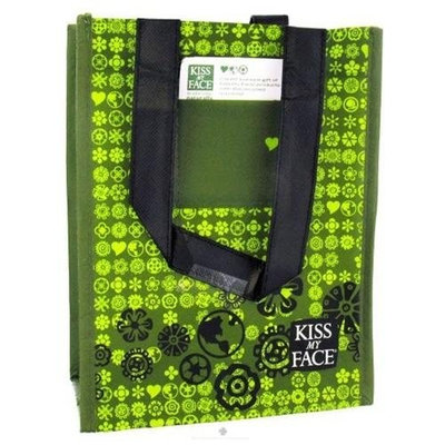 Kiss My Face - Recycled Gift Totes Display - 12 pc
