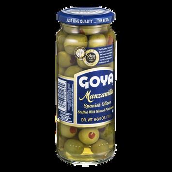 Goya Manzanilla Spanish Olives with Pimientos