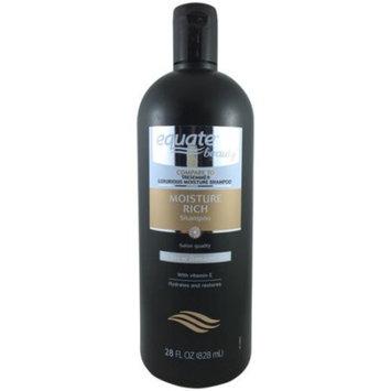 Equate Beauty Moisture Rich Shampoo, 28 fl oz