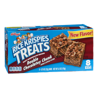 Kellogg's Rice Krispies Treats Double Chocolatey Chunk - 8 CT