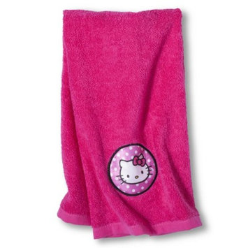 Hello Kitty Hooded Towel