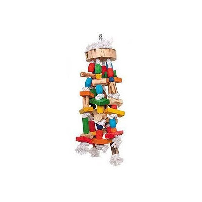 Parrotopia TOY 13 20 in. x 7 in. Block Party