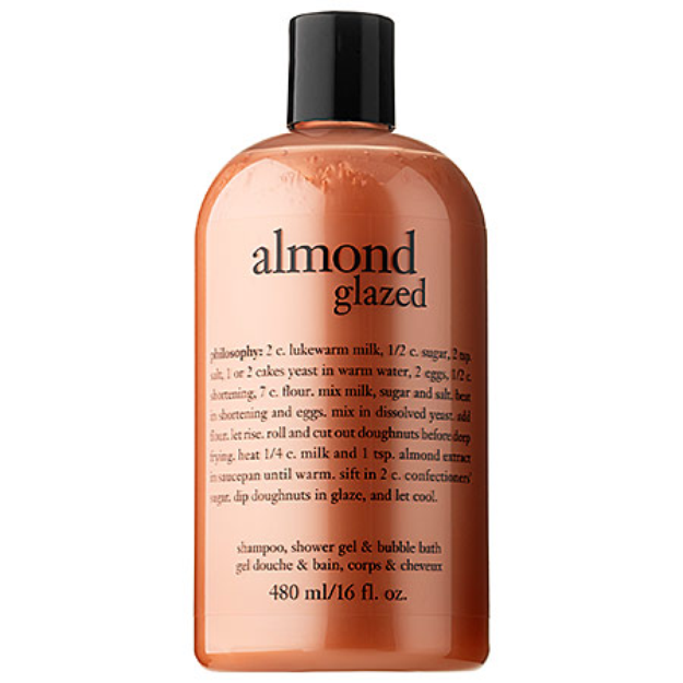 philosophy almond glaze shower gel, 16 fl oz