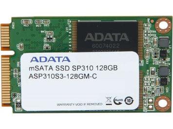 ADATA Premier Pro SP310 ASP310S3-128GM-C mSATA 128GB SATA 6GB/s MLC Internal Solid State Drive (SSD)