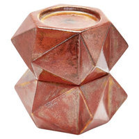 Dimond Home Decor fixture Model 857129/S2 Large Ceramic Star Candle Holders - Russet. Set Of 2. Uncategorized from the Bronze Tones finishes group in Russet Bro