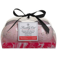 Upper Canada Soap   Candle Upper Canada Soap & Candle Blossom Bath Burst Set Poppy Flower & Pummeo, Two 6-Ounce Fizzies (Pack of 2)