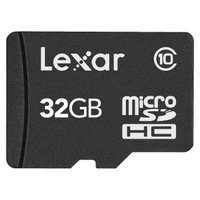 Lexar 32GB microSDHC Memory Card