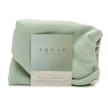 Aquis Essentials Microfiber Hair Turban with Button Closure