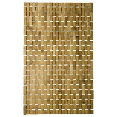 Threshold Bamboo Wood Rattan Mat - 18x29