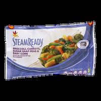 Ahold Steam Ready Broccoli, Carrots, Sugar Snap Peas & Baby Born