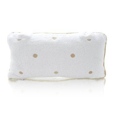 Spa Sister Luxury Bath Pillow-Beige Dots