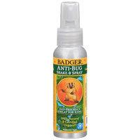 Badger Anti Bug Shake & Spray Travel Size, 2.7 fl oz