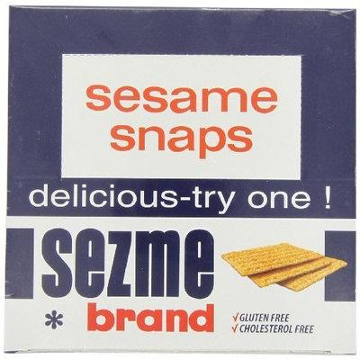 Sezme Sesame Snaps, 40-gram, (Pack of 24)