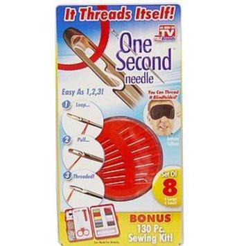 One Second Needle Self Threading Needles with Bonus 101 PC