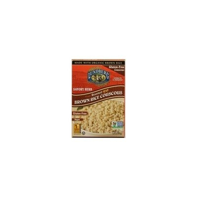 LUNDBERG Gluten Free - Roasted Brown Rice Couscous Savory Herb, Vegan At least 70% Organic