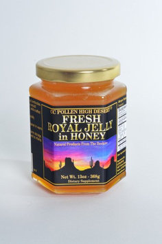 CC Pollen - High Desert Fresh Royal Jelly in Honey - 13 oz.