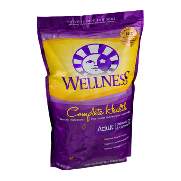 Wellness Complete Health Natural Food For Adult Dogs Deboned Chicken & Oatmeal Recipe