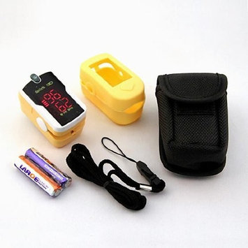 Concord Topaz Fingertip Pulse Oximeter with free carrying case, lanyard and protective cover
