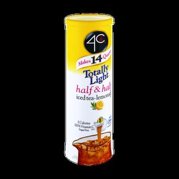4C Totally Light Half & Half Iced Tea Lemonade Mix - 7 CT