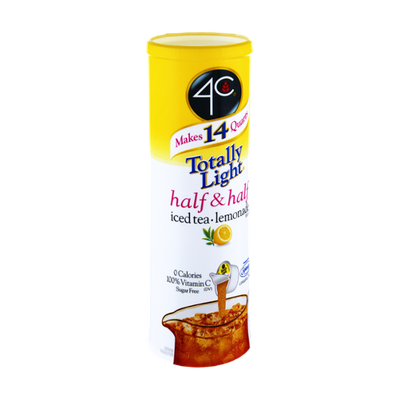 4C Totally Light Half & Half Iced Tea Lemonade Mix - 7 CT