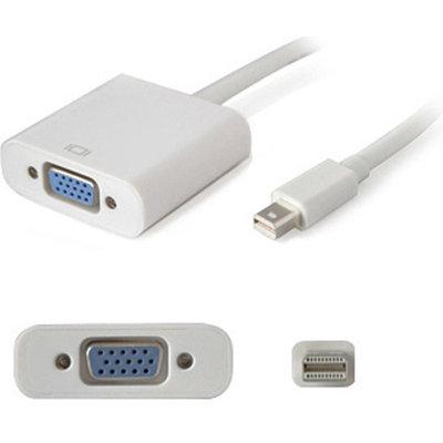 ADDON - FIBER AddOn Mini-Displayport to VGA Male to Female Adapter Cable, Black, 8