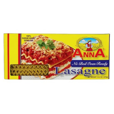 Anna No Boil Oven Ready Lasagne, 13.2 Ounce Boxes (Pack of 12)
