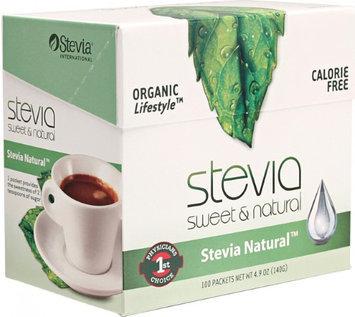 Simply Stevia Stevia International 100 packets Box