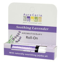 Aura Cacia Aromatherapy Roll-On Stick Soothing Lavender