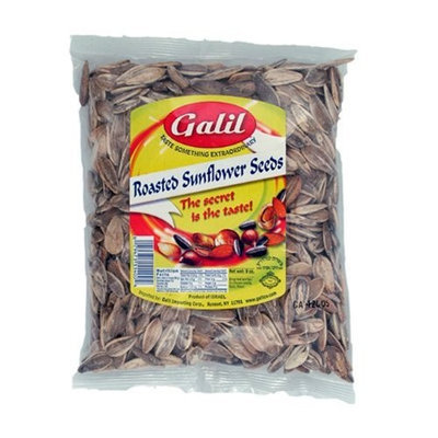 Galil LiOR Sunflower Seeds Roasted/Salted, 7-Ounce Bags (Pack of 6)
