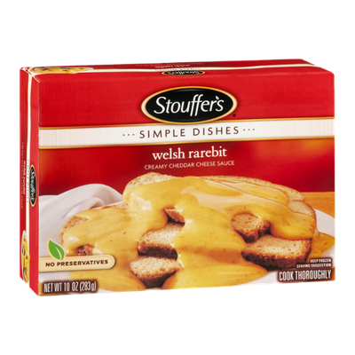 Stouffer's Simple Dishes Welsh Rarebit with Cheddar Cheese Sauce