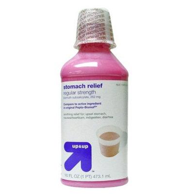 up & up up&up Bismuth Regular Stomach Relief, Cherry - 16 fl oz