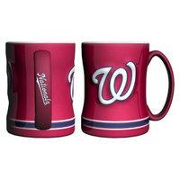 Boelter Brands MLB Nationals Set of 2 Relief Coffee Mug - 14oz