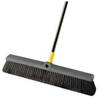 Quickie Brooms & Mops Bulldozer 18 in. Multi-Sweep Push Broom (4-Pack) 00523