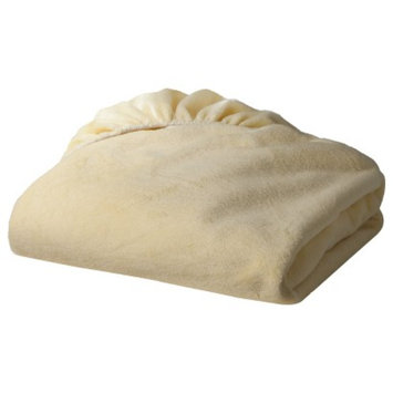 TL Care Heavenly Soft Chenille Fitted Crib Sheet - Maize