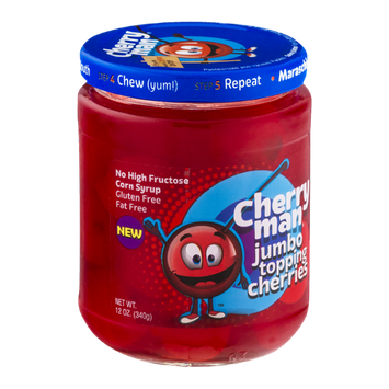 Cherry Man Jumbo Topping Cherries