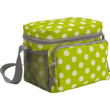 Everest Cooler/Lunch Bag Lime/White Dot - Everest Travel Coolers