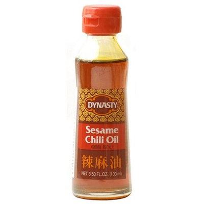 Dynasty Sesame Chili Oil, 3.5-Ounce Bottle (Pack of 4)